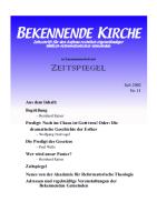 Titelblatt Heft 11