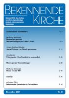 Titelblatt Heft 31
