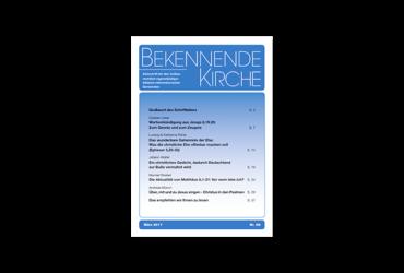 BEKENNENDE KIRCHE Nr. 68